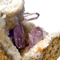 Amethyst Quartz & Calcite