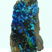 Lavendulan Conichalcite & Azurite