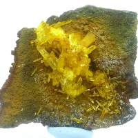 Legrandite & Hydrozincite