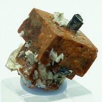 Rhodochrosite Polylithionite & Aegirine