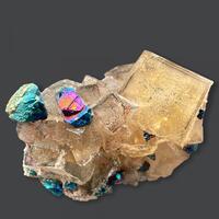 Fluorite Chalcopyrite & Dolomite