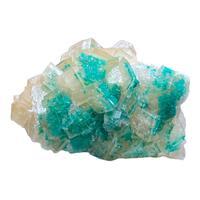 Calcite & Dioptase