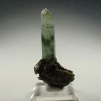 Quartz Var Prase With Epidote
