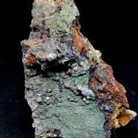 Siderite & Conichalcite & Calcite