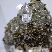 Quartz Muscovite Fluorite & Fluorapatite