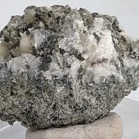 Prehnite Calcite Magnetite & Amphibole