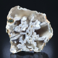 Agate With Psm Aragonite