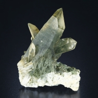 Quartz With Chlorite