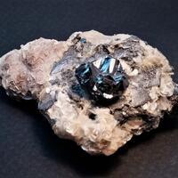 Cassiterite & Graphite