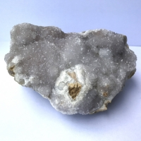 Quartz & Chalcedony On Siderite