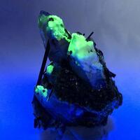 Quartz Schorl & Hyalite
