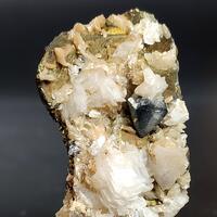 Scheelite Calcite & Chalcopyrite