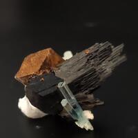 Aquamarine Schorl & Siderite