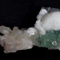 Apophyllite With Scolecite