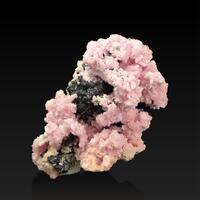 Rhodochrosite Sphalerite & Pyrite