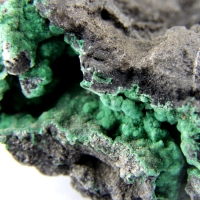 Heterogenite & Malachite
