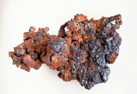 Mineral Images Only: Cuprite & Native Copper