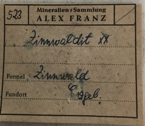 Label Images - only: Zinnwaldite