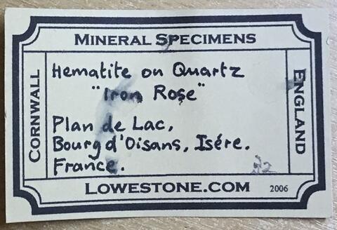 Label Images - only: Hematite & Smoky Quartz