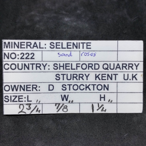 Label Images - only: Selenite
