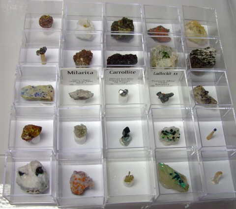 Label Images - only: Mixed Minerals