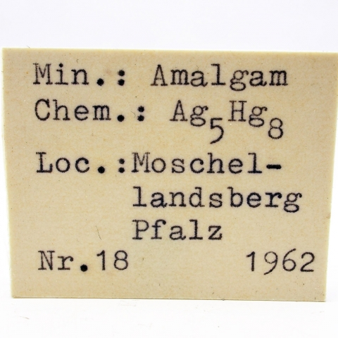 Label Images - only: Amalgam