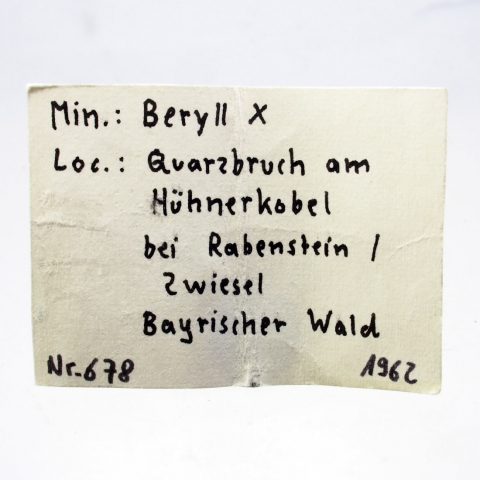 Label Images - only: Beryl