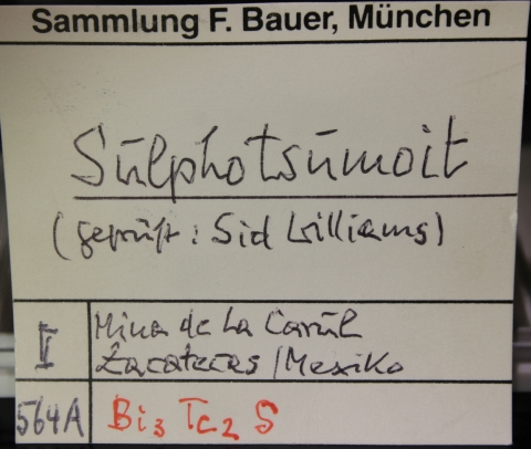 Label Images - only: Sulphotsumoite