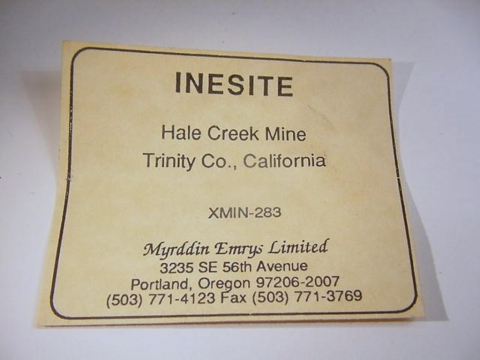 Label Images - only: Inesite