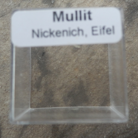 Label Images - only: Mullite