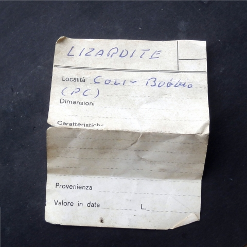 Label Images - only: Lizardite