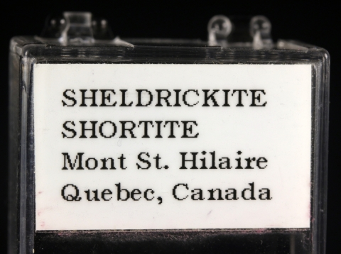 Label Images - only: Vaterite On Shortite