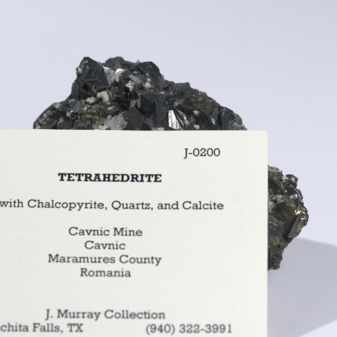 Label Images - only: Tetrahedrite
