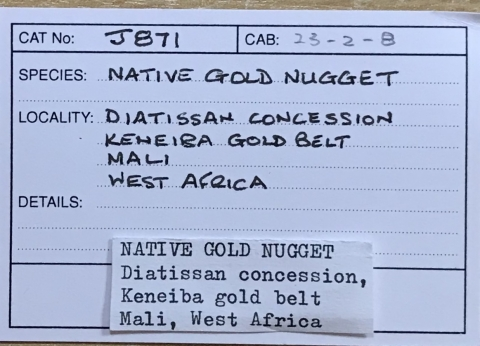 Label Images - only: Native Gold