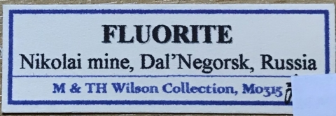 Label Images - only: Fluorite