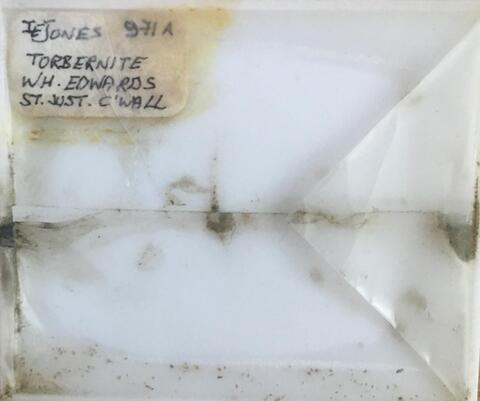 Label Images - only: Torbernite