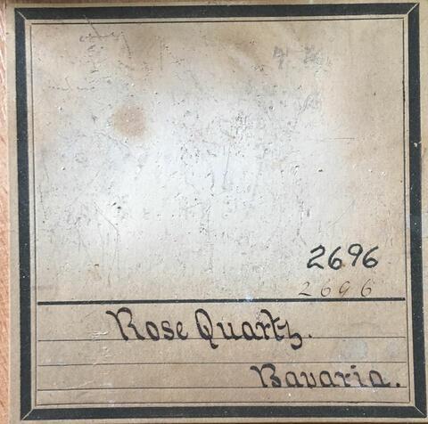 Label Images - only: Rose Quartz