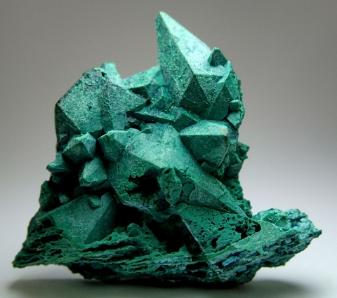 Mineral Images Only: Malachite Psm Calcite