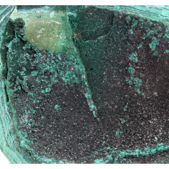 Brochantite & Malachite