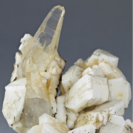 Rock Crystal & Pericline