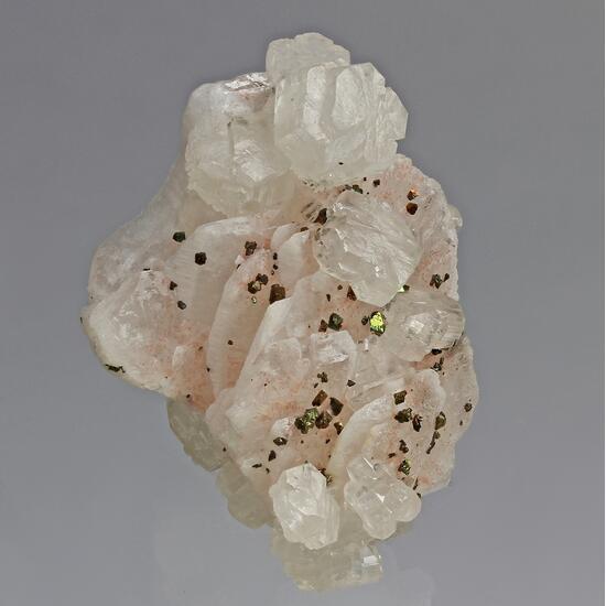 Strontianite Baryte & Chalcopyrite