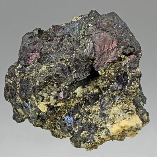 Covellite & Pyrite