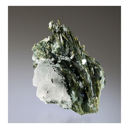 Epidote With Calcite