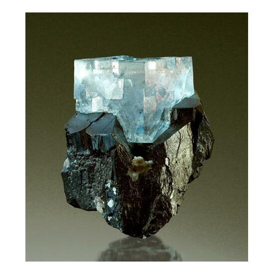 Fluorite & Ferberite