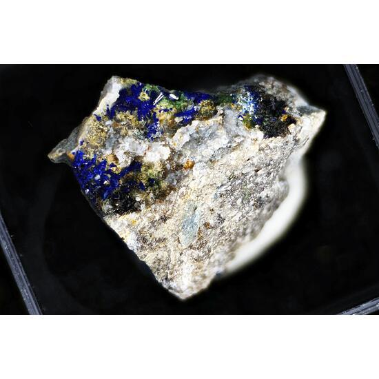 Azurite & Adamite