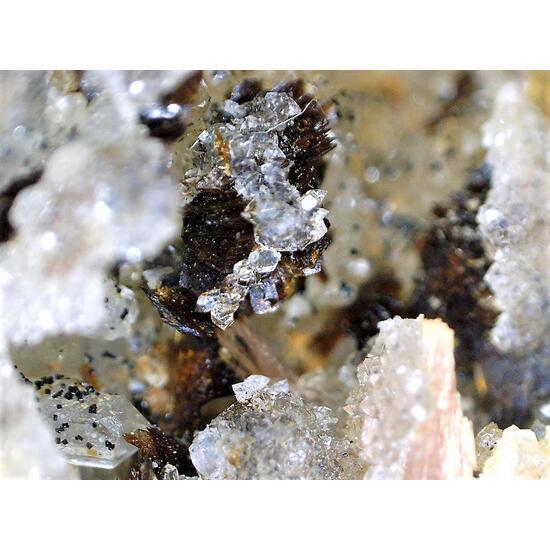 Hubeite Inesite & Apophyllite