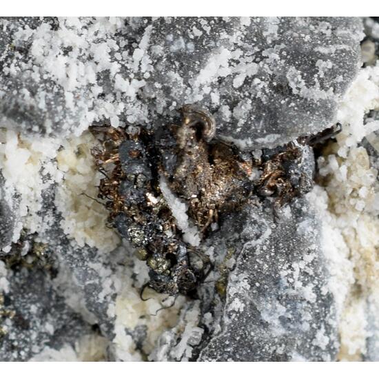 Native Silver & Acanthite