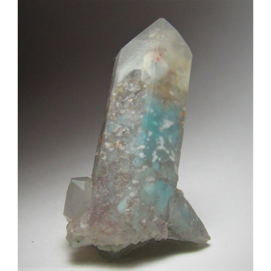 Ajoite In Quartz