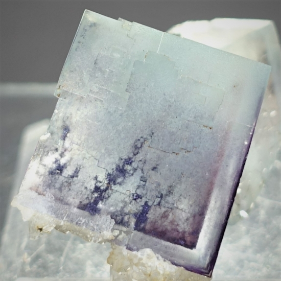 Fluorite With Native Silver Inclusions
