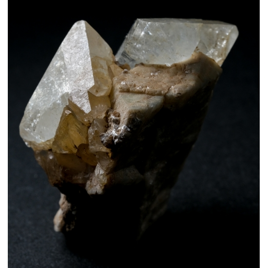 Topaz On Feldspar